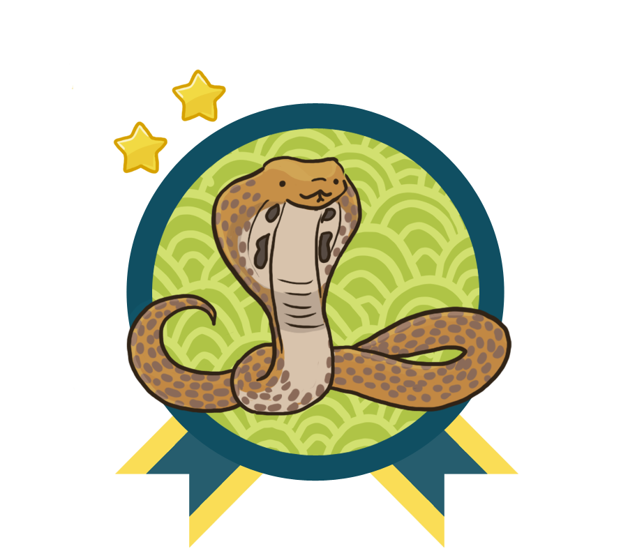 This image has an empty alt attribute; its file name is indiancobra.png